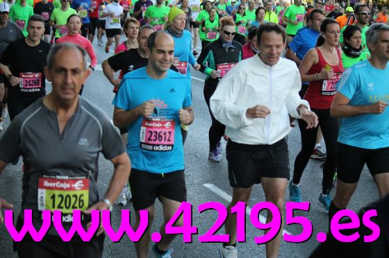Marathon Madrid 1769
