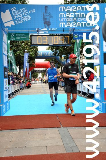 MARATHON VITORIA Finish 2