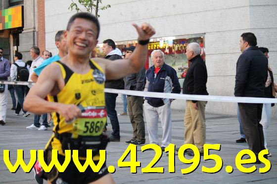 Marathon Madrid 3012